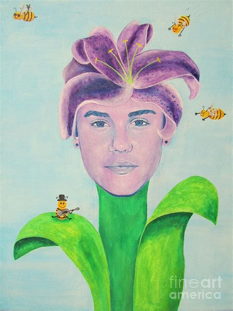 justin bieber painting justin bieber painting painting by jeepee aero