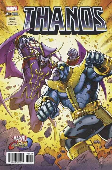 Kaset Ps4 Marvel Vs Capcom Infinite Comic Book thanos issue 10 review