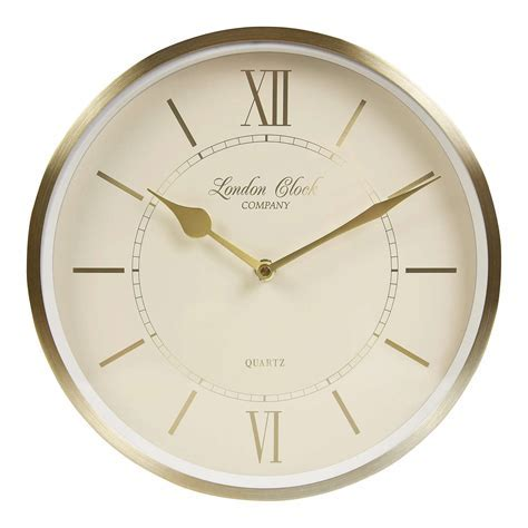 London Clock Company Heritage Wall Clock, Dia.25cm