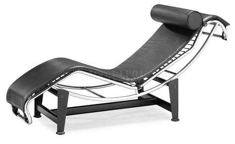 Black And White Chaise Black White Pony Leather Modern Chaise Lounger