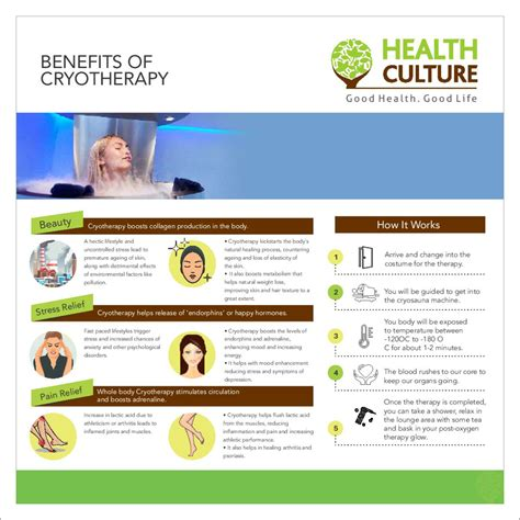 Detoxing Effects Of Cryotherapy by Top Benefits Of Cryotherapy India Health Culture