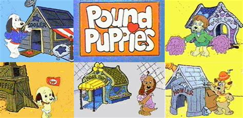 pound puppies characters pound puppies and all new pound puppies