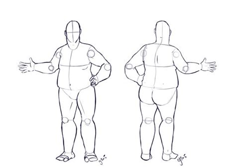fat costume design base commission by illustratedjai
