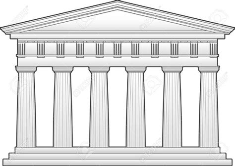this is an outline of the parthenon a doric temple this