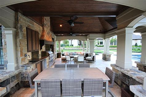 French Provincial Kitchen Designs Photo Gallery Of Outdoor Kitchens Fireplaces Amp Fire Pits