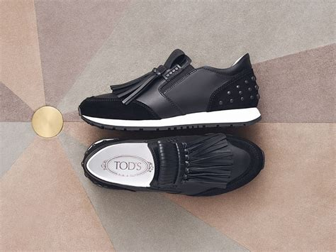 Sneakers Shoes E 044 sporty with an touch tod s sneakers the