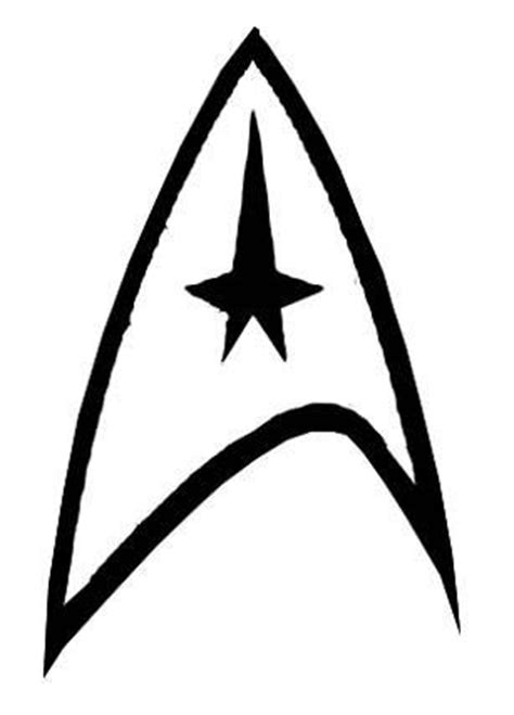 printable star badges star trek star trek insignia and stars on pinterest