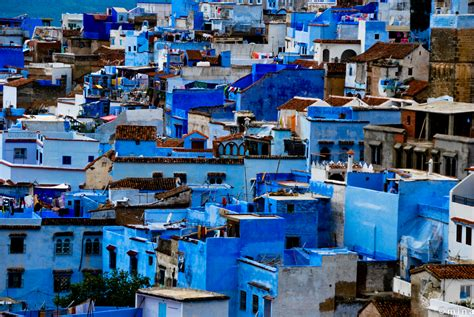 morocco blue city the blue city of morocco middle east revised