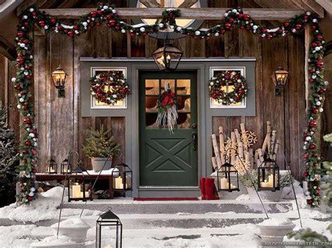 decorazioni natalizie porta ingresso decorazioni natalizie per esterno foto design mag