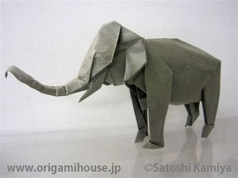 Origami Baby Elephant - 17 best ideas about origami elephant on paper
