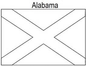 geography blog alabama state flag coloring page