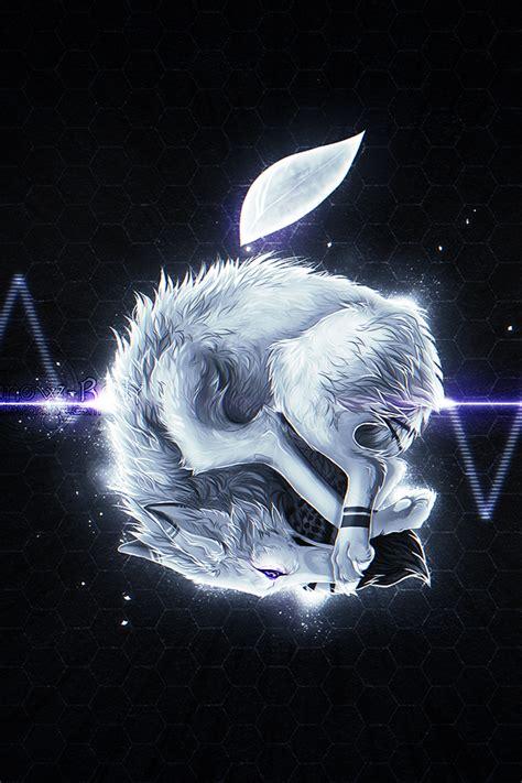 wallpaper iphone wolf apple wolf iphone wallpaper hd
