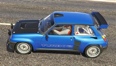 Renault 5 Turbo Add On Replace Tuning Livery