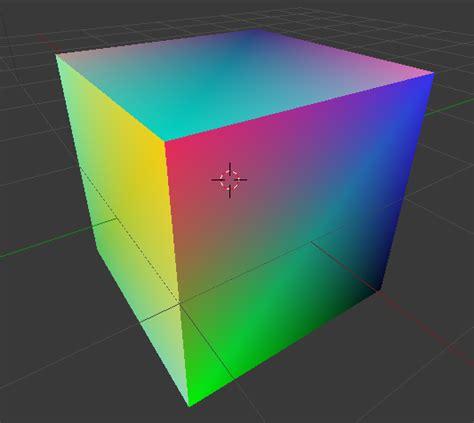 blender python vertex color map