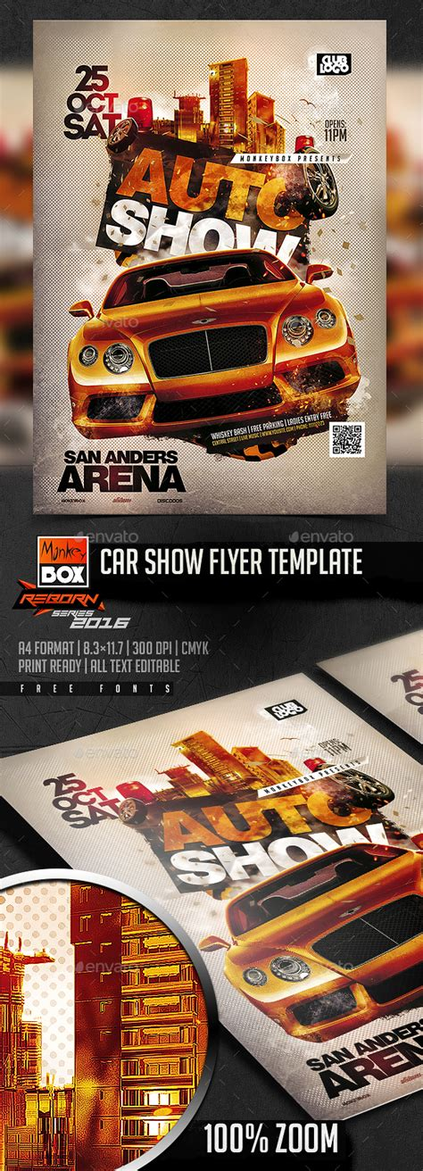 template flyer show car show flyer template flyer template flyers and psd