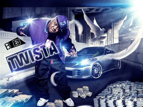 Gangsta Twist 3 twista gangsta rapper rap hip hop poster g wallpaper