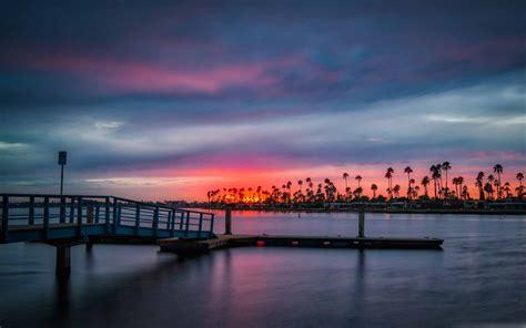 california sunset mac wallpaper  allmacwallpaper