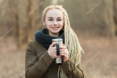 hipster dreads for sale young beautiful blonde hipster woman in scarf and parka