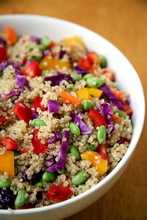 quinoa salad healthy quinoa vegan salad popsugar fitness australia