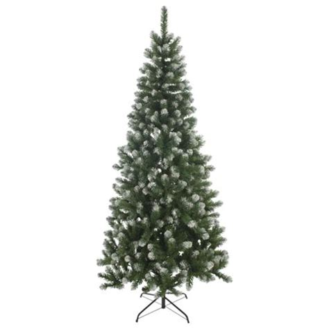 buy 6ft slim christmas tree frosted emperor tree from our