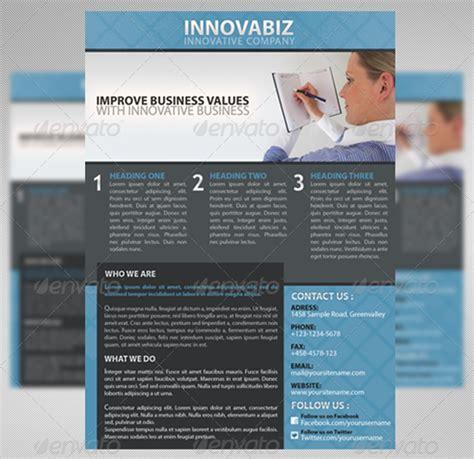 business advertisement template top corporate business flyer templates 56pixels