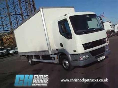 Box Truck With Sleeper by Daf Lf45 7 5 Ton Sleeper Cab Box Truck Compliant