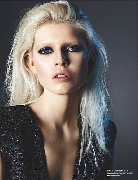 ola model cma stars agency ola rudnicka gets glammed up for numero magazine april