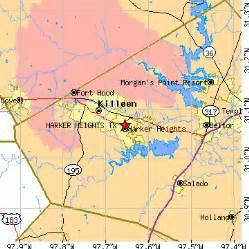 map of harker heights harker heights tx population data races