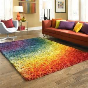 shaggy rugs for room 3 x 5 shag area rug colorful multicolor play