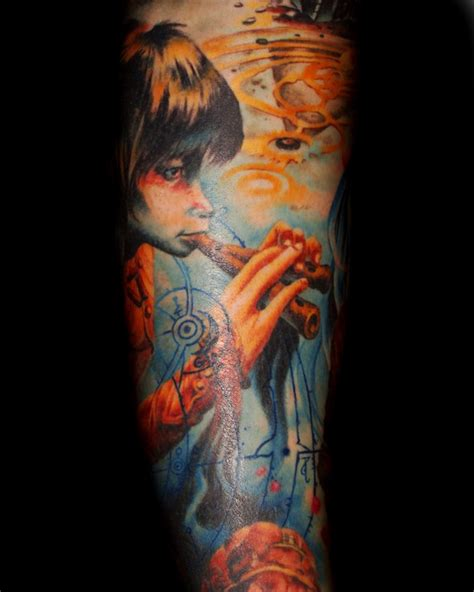 dark crystal tattoo by tom strom tattoonow