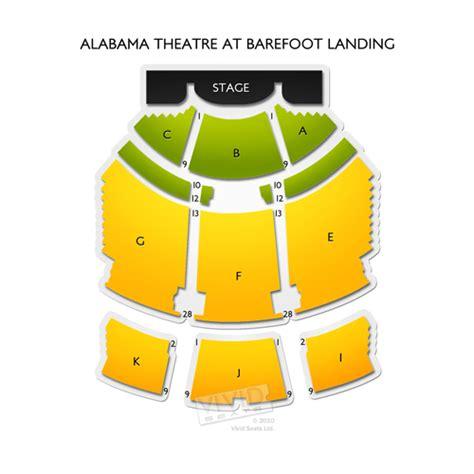 alabama theater seating chart myrtle alabama theatre at barefoot landing seating chart