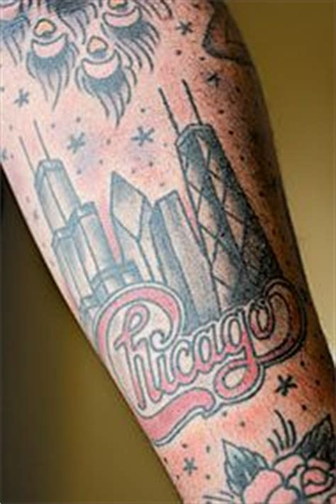 glow in the dark chicago skyline tattoo 1000 images about tattoos on pinterest palm tree