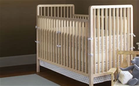 Light Wood Baby Crib Eco Friendly Baby Cribs In Light Wood Free Shipping