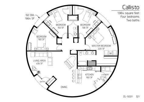 monolithic dome homes floor plans floor plan dl 5001 monolithic dome institute