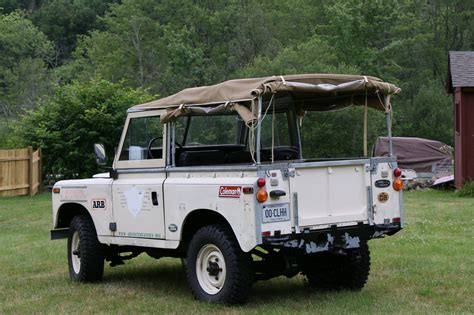 Expedition Original Stainless Still 1973 land rover series iii l expedition transafricaine