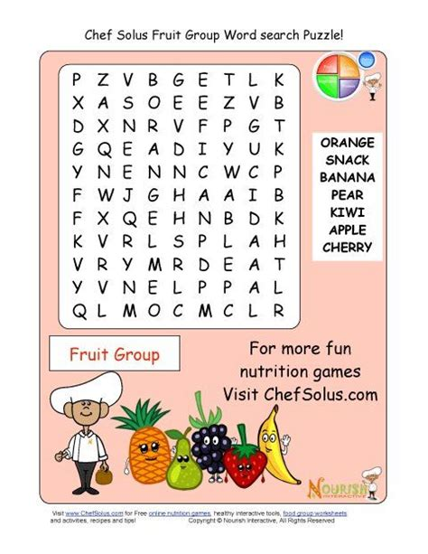 printable fruit jigsaw puzzles printable word search puzzle fruit group educational