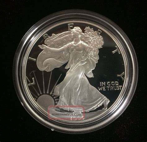 1 troy ounce american silver eagle coin value 1995 silver proof american eagle one ounce coin