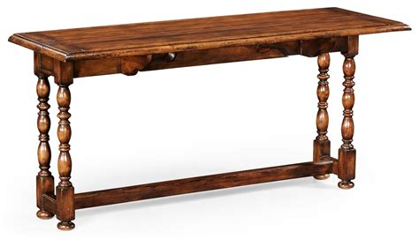 walnut sofa table walnut country sofa table