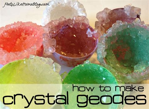 diy science experiments at home how to grow your own geodes cool science