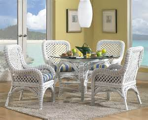 Wicker Kitchen Furniture Kitchen Chairs Kitchen Table 4 Chairs