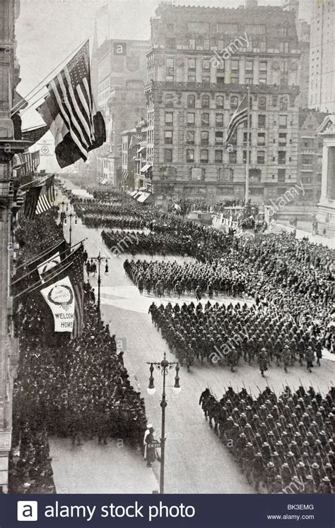 New York I Shall Return by Marching Troops Stock Photos Marching Troops Stock