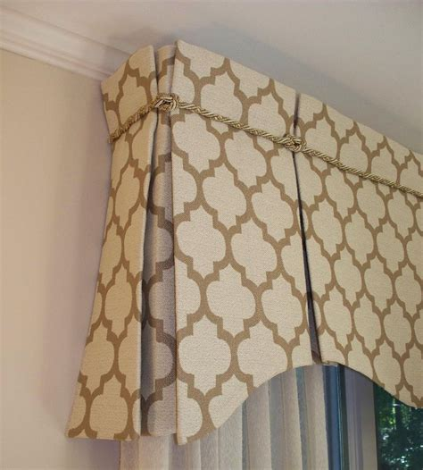 valance designs open top inverted box pleat drapery pinterest