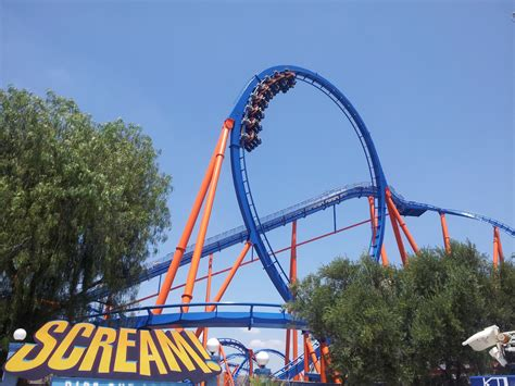 six flags magic mountain twisted colossus and screunk district open at six flags
