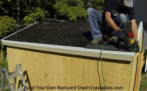 how to roof a shed roofing a shed icreatables