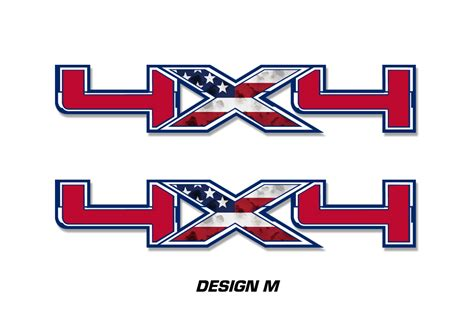 Ford 4x4 Decals by Ford F 150 4x4 Decal Graphics For Front And Back Of Vehicle