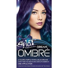 how to dye your hair with splat ombre ombre hair color splat dark brown hairs
