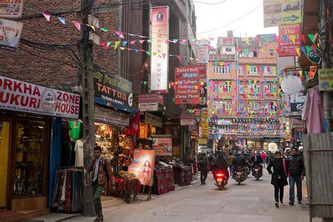 ira block photography street view in thamel kathmandu