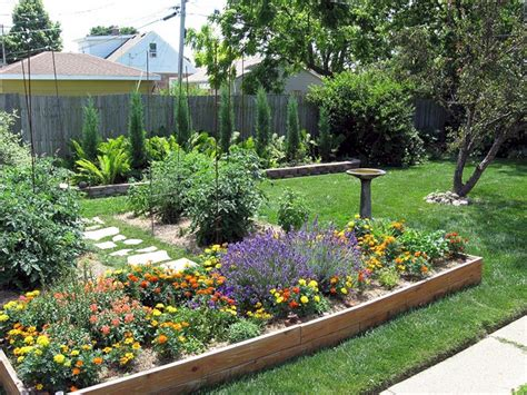 24 Awesome Small Backyard Inspirations With Colorful Flower Garden Ideas For Small Yards