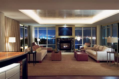 Home Interiors Design Plaza by Vancouver Penthouse And Office Lobby Contemporary