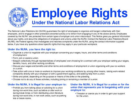 national labor relations act section 8 take that nlrb poster down omega hr solutions